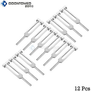 12 Tuning Fork C 256 Surgical Medical Instruments New