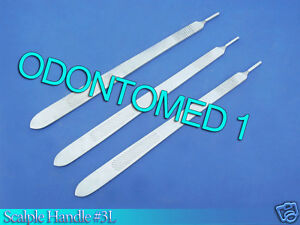 12 Scalpel Handle 3l Surgical Ent Veterinary Instruments
