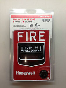 Honeywell S464f1008 Fire Alarm Pull Station Brand New In Package