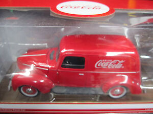 Coca-Cola 1940 Delievery Panel Van- MIB 1:18 scale