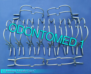 12 Jenning Mouth Gag 6 Surgical Dental Veterinary Instruments