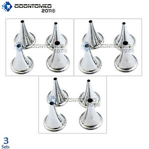 3 Boucheron Ear Specula Speculum Surgical Ent Instruments