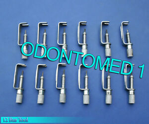 12 Bur Tool Surgical Dental Instruments