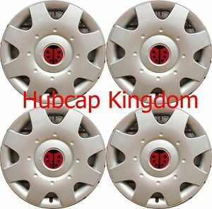 New 1998 2009 Vw Beetle 16 Ladybug Lady Bug Hubcaps Wheelcovers Set Of 4