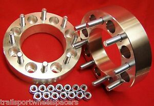 2pc 8 Lug Dodge Ram 2012 To 2018 Dually 3500 And 2500 Wheel Spacers Adapters 2