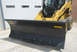 Paladin Ffc 72 Skid Steer Loader Hydraulic Angle Snow Blade Attachment