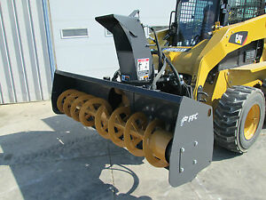 Paladin Ffc 72 Skid Steer Loader Snow Blower Attachment 1 Yr Warranty