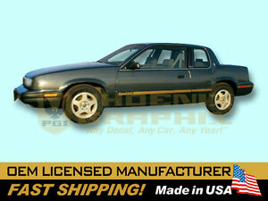 1990 1991 Oldsmobile Quad 442 Decals Stripes Kit
