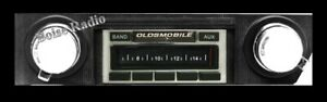 1968 1969 Oldsmobile Cutlass 442 Am Fm Stereo Radio Usa 230 200 Watts Aux Input_