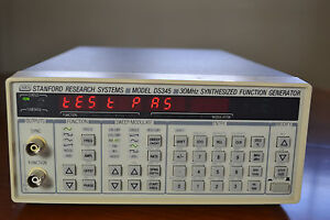 Stanford Research Ds345 Opt 01 Synthesized Arbitrary Waveform Function Generator