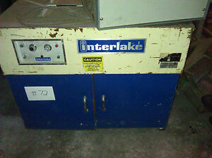 Interlake Strapper strapping Machine Model Ms af Lr 39980