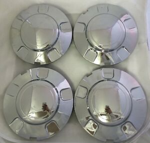 1997 2003 Ford Expedition Hub Wheel Chrome Center Cap Set Of 4