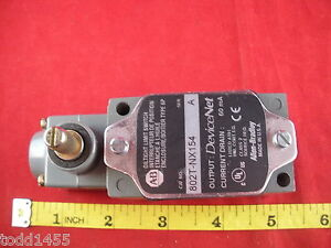 Allen Bradley 802t nx154 Limit Switch Ser A 75004 466 51 Operator Head Devicenet