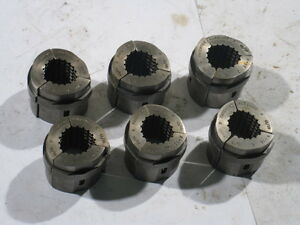 Hardinge S 12 Collet Pads 7 Sets Of 3 Pcs Abc 7 16