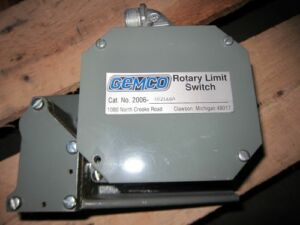 Gemco Rotary Limit Switch 2006 402l60a