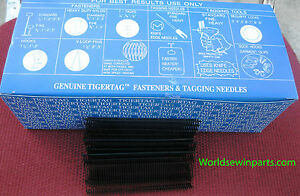 5000 1 Inch Regular Black Price Tag Tagging Barbs Fasteners