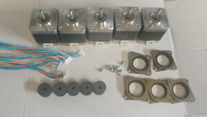 5 X Stepper Motor Nema 17 76 Oz in Cnc Mill Robot Reprap Makerbot Gt2 2mm P5v