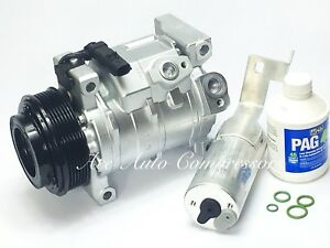 2008 2010 Chrysler Town Country 3 3l 3 8l With Rear Air A C Compressor Kit