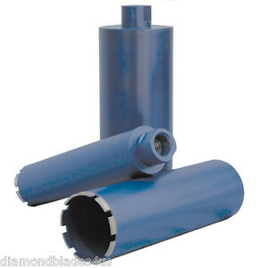 Set Diamondblades4us Contractor Series Wet Diamond Core Drill Bits