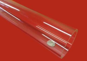 Acrylic Tube Clear Extruded 2 25 Od X 2 00 Id X 125 Wall X 72 Length