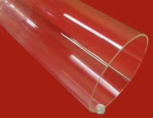 Acrylic Tube Clear Extruded 6 50 Od X 6 25 Id X 125 Wall X 72 Length