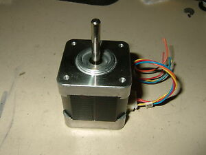 New Stepper Motor Nema17 Cnc Mill Robot Reprap Makerbot Arduino 76oz in 10v