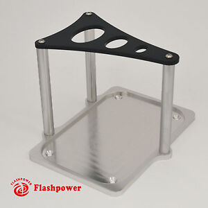 Optima Billet Aluminum Battery Hold Down Tray Black