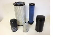 Mahindra Tractor Economy Pack Of 5 Filters 0789 0790 6648 3427 8803