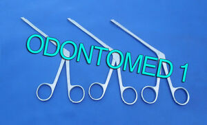 3 Gruenwald Nasal Forceps 4 5 3x12mm Ent Surgical Instruments