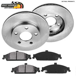 Front Brake Rotors Metallic Pads For Chevy Malibu Pontiac Gram Alero Cutlass
