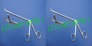 2 Cushing Pituitary Rongeurs 5 3mm up Ent Surgical Instruments