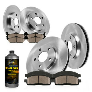 Front Rear Rotors Ceramic Pads 2003 2004 2005 2006 2007 Honda Accord Ex Lx Dx Se