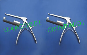 2 Kerrison Rongeur 7 1mm 3mm Up Bite 90 Degree Orthopedic Instruments