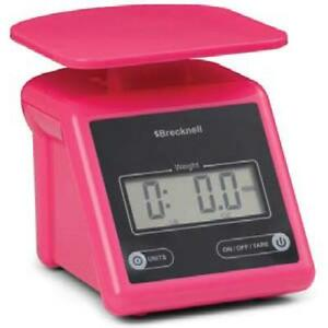 Brecknell Ps7 pink Ps7 Electronic Postal Scale 7 X 0 01 Lb