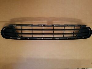 Fits 2010 2011 2012 Ford Fusion Lower Grille On Front Bumper Brand New
