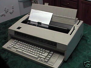 Refurb Ibm Wheelwriter 3 Typewriter W 120 Day Warranty