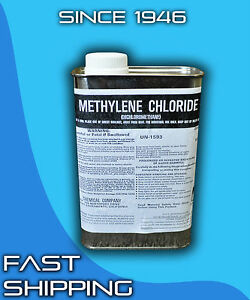 Dichloromethane 1 Quart Methylene Chloride Paint Stripper Degreaser Plastic Weld