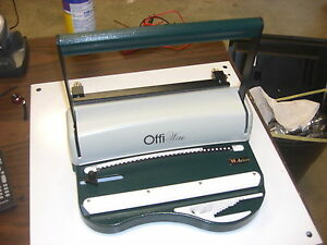 Akiles Offiwire 31 11 3 1 Pitch Wire Binding Machine Punch By Akiles