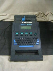 Brady Ls2000 Wire Marker Dot Matrix Label Printer