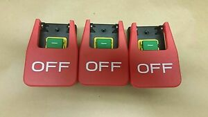 3 Start Stop Switch Up To 3 Hp 220 Volts Or 110 Paddle Stop Ul Listed