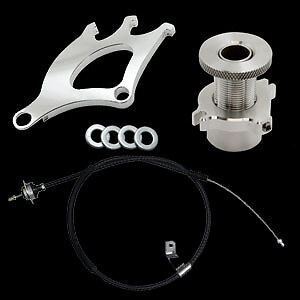 96 04 Ford Mustang Clutch Cable Quadrant Micro Firewall Adjuster 3 Piece Kit