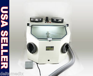 Dental Lab Sandblasting Machine Sandblaster 110v Fda 026 dq Dentq