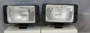 2 4x4 Off Road 4 Universal Driving Lamps Fog Lights Set