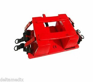 Medical Head And Neck Immobilizer Emergency Equipment Ambulance Red F
