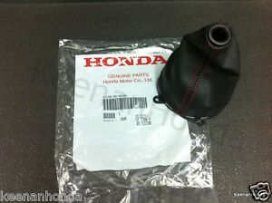 Genuine Oem Honda Civic Si Red Stiched Shift Boot 2006 2011