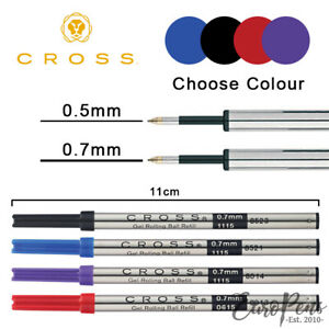 Cross Standard Selectip Gel Ink Rollerball Pen 0 7mm Refill Select Colour