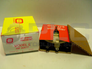 New Ohmite Rls3k0 All Ceramic Rheostat Model L 150 Watt