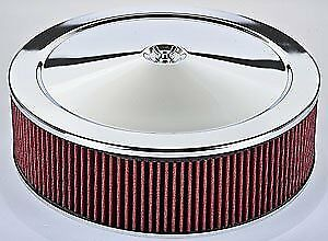 Jegs Performance Products 50008 14 X 4 Air Cleaner With Smooth Top