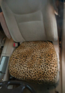 Bottom Seat Covers For Bucket Seats Price Is For One 1 Leopard Print