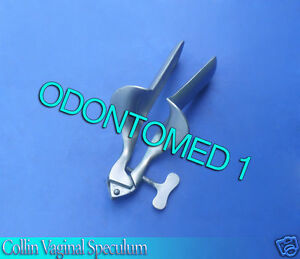 6 Collin Vaginal Speculum Large Surgical Instruments